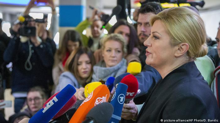 Kolinda Grabar-Kitarović nakon objavljivanja rezultata