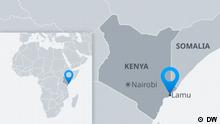 Karte Kenya Lamu EN