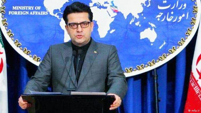 Abbas Mousavi - Sprecher des iranischen Aussenministeriums