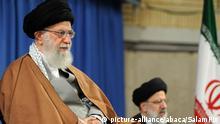 Konflikt Iran-USA | Ayatollah Ali Khamenei und Ebrahim Raisi