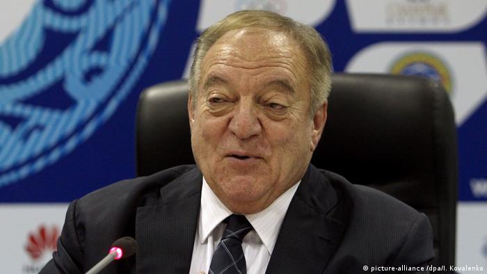 Tamas Ajan - Präsident Gewichtheber-Weltverband: 2014 IWF World Championships