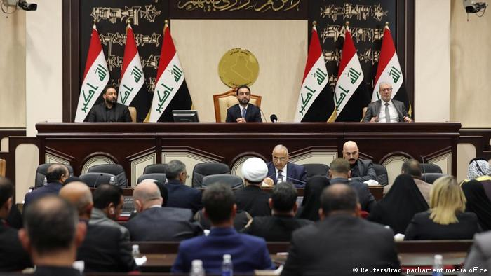 Iraqi parliament on Sunday