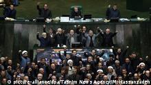 Konflikt Iran-USA | Parlamentssitzung in Teheran