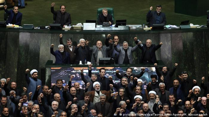 Iranian parliament on Sunday