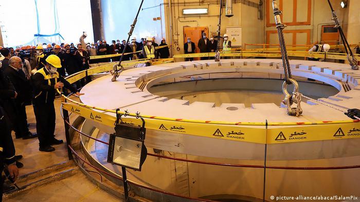 Reactor nuclear en Arak, en las cercanías de Teherán.
