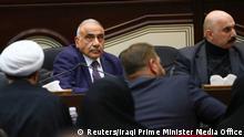 Irak Parlament Bagdad | Adel Abdel Mahdi, Premierminister