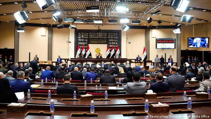 Irak Parlament Bagdad | Adel Abdel Mahdi, Premierminister (Reuters/Iraqi Prime Minister Media Office)