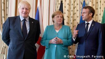 Frankreich Biarritz 2019 | Boris Johnson, Angela Merkel & Emmanuel Macron