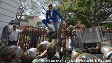 Venezuela Caracas | Juan Guaido, ehemaliger Präsident der Nationalversammlung