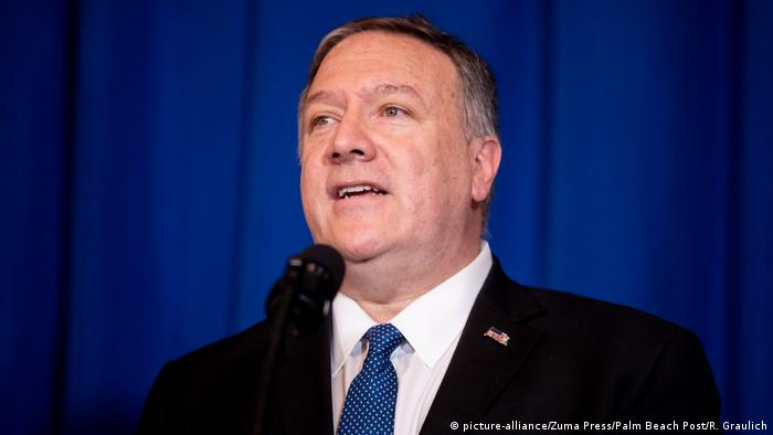 USA West Palm Beach, Florida | Mike Pompeo, Außenminister (picture-alliance/Zuma Press/Palm Beach Post/R. Graulich)