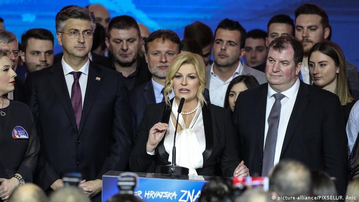 Vrh HDZ nakon poraza Kolinde Grabar-Kitarović