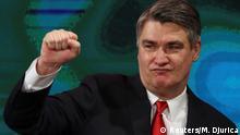 Kroatien Sozialdemokrat Milanovic gewinnt Präsidentenwahl