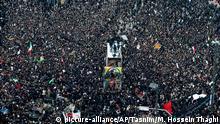 Iran Hunderttausende bei Trauerzeremonien für getöteten General Soleimani