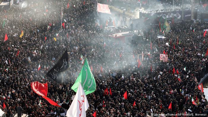 Ispraćaj generala Soleimanija u Teheranu ovog siječnja