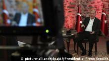 Türkei Erdogan TV - Interview | Entsendung von Soldaten nach Libyen