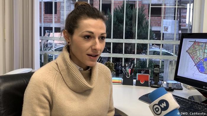 Marta Ilievska, Architektenverband Nord-Mazedonien