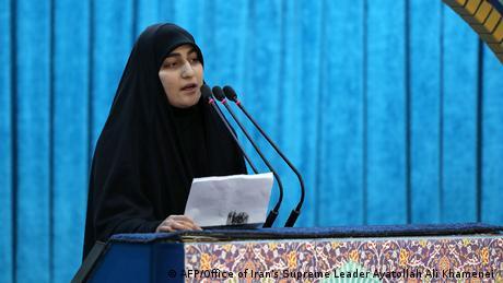 The general's daughter, Zeinab Soleimani