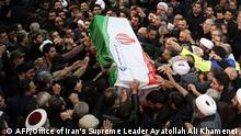 Iran Trauerzeremonie für getöteten General Soleimani in Teheran |