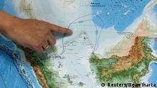 Indonesien Karte Nord Natuna Meer (Reuters/Beawiharta)