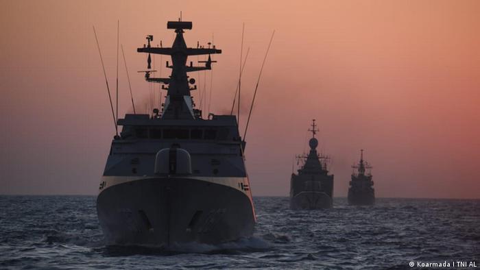 Indonesian warships