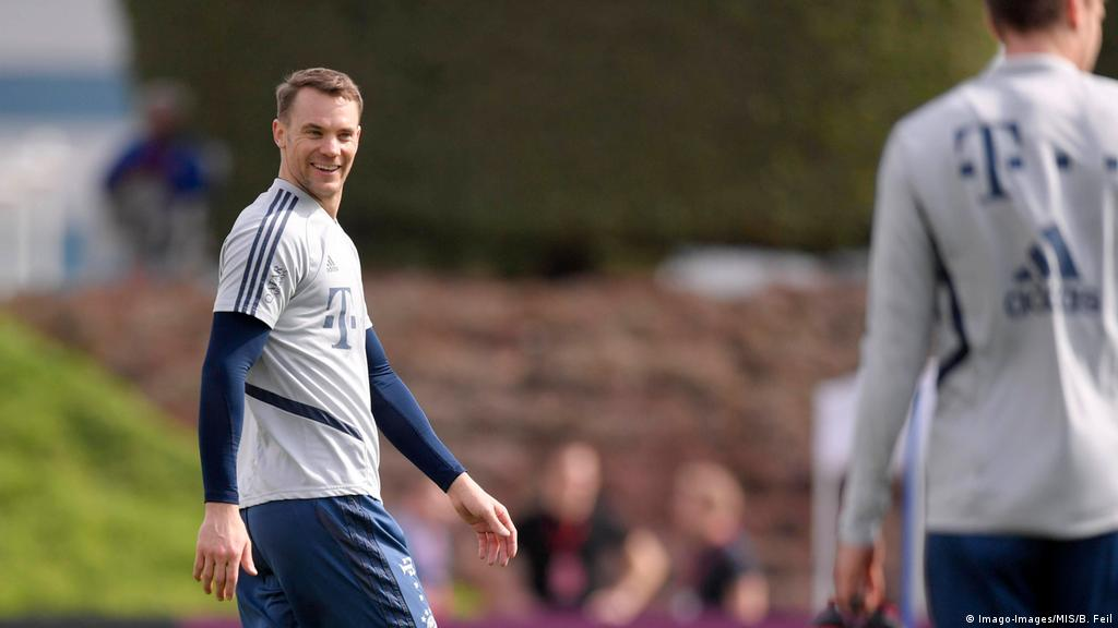 Torwart Manuel Neuer Will Platzhirsch Beim Fc Bayern Bleiben Sport Dw 06 01 2020