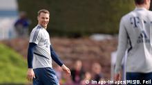 Katar   Manuel Neuer im Trainingslager