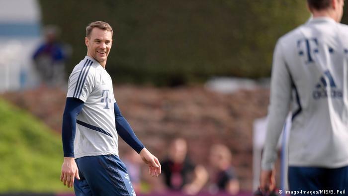 Katar | Manuel Neuer im Trainingslager