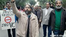 JNU Proteste Studenten Delhi