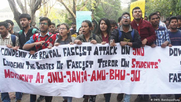 Fresh student protests hit India over university attack