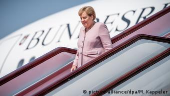 China Wuhan 2019 | Angela Merkel, Bundeskanzlerin (picture-alliance/dpa/M. Kappeler)
