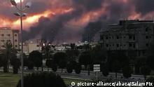 Saudi-Arbaien Drohnenangriffe auf Ölanlagen
