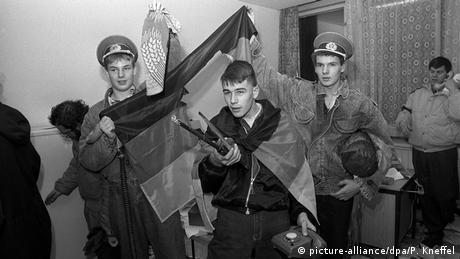 Ataque a la sede de la Stasi.