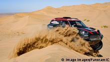 05.01.2020 311 Terranova Orlando arg, Graue Bernardo arg, Mini John Cooper Works Rally, X-Raid Mini JCW Team, Auto, Car, action during Stage 1 of the Dakar 2020 between Jeddah and Al Wajh, 752 km - SS 319km, in Saudi Arabia, on January 5, 2020 MOTORSPORT : Rallye de Dakar - Etape 1 - Jeddah a Al Wajh - 05/01/2020 DPPI/Panoramic PUBLICATIONxNOTxINxFRAxITAxBEL