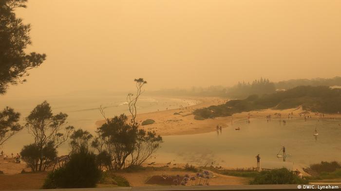 Пляж поблизу Бейтсменс Бей на сході Австралії