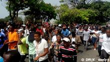 Liberia Demonstration in Monrovia Anti-Regierungsproteste