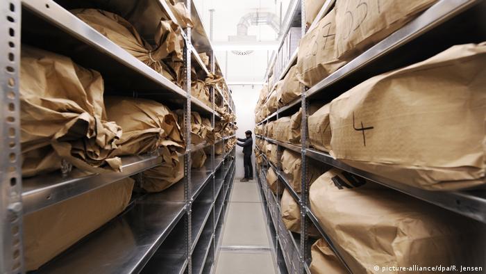 Archiwum Urzędu ds. akt Stasi, zdjęcie archiwalne z 2010 roku