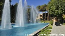 Kulturstätten im Iran Garten im Safavid Hasht Behesht Palast