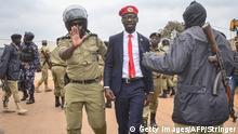 Uganda Kampala Festnahme Bobi Wine