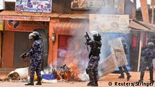 Uganda Kampala Proteste nach Festnahme von Bobi Wine