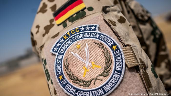 Солдат бундесвера в Ираке