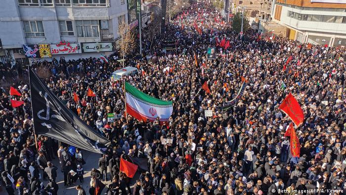 Iran Trauer um General Soleimani in Kerman