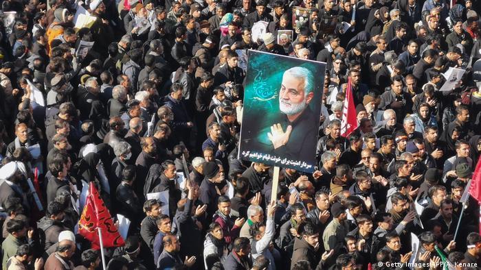 Süleymani'nin cenaze töreninde çıkan izdihamda en az 56 kişi hayatını kaybetmişti.
