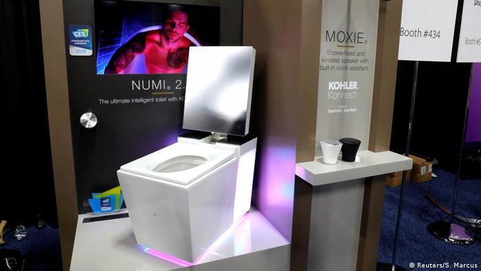 Numi 2.0-Toilette auf der CES