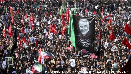 Ένωσε τους Ιρανούς ο θάνατος Σουλεϊμανί