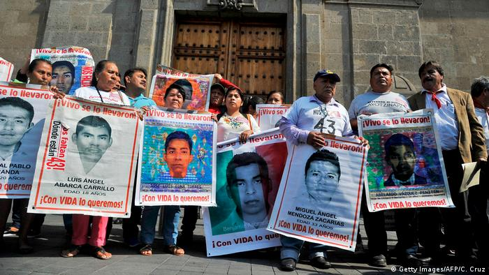 Mexiko Vermisste Studenten (Getty Images/AFP/C. Cruz)