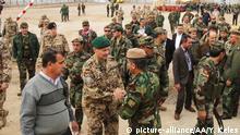 Irak Deutsche Soldaten auf dem Militärstützpunkt Erbil