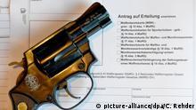 Deutschland 2015 | Revolver & Antrag Waffenschein