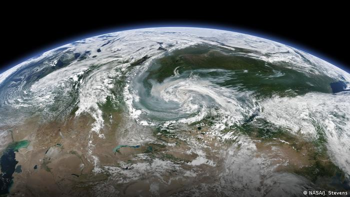Waldbrände in Sibirien im Juli 2019