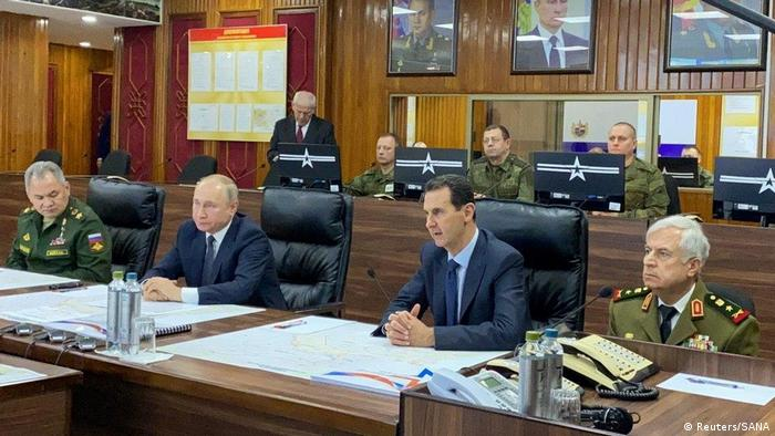 Зустріч Путіна й Асада у Дамаску
