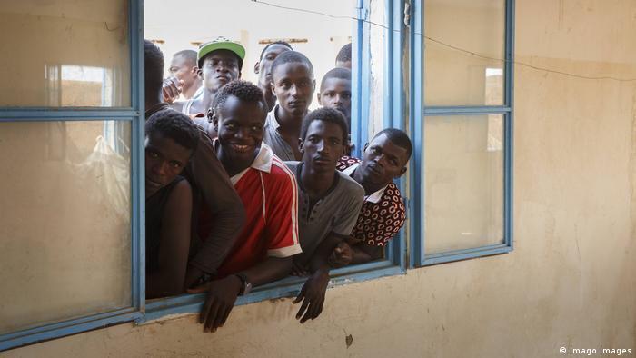 Agadez Nigeria Flüchtlingslager